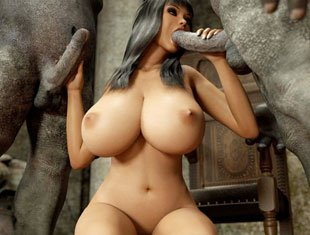 Monster 3d Big Tit Action