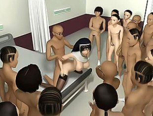 3D mass Gangbang