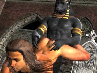 Anubis Fucks Slave Boy